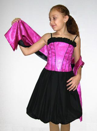 Сшить новогоднее платье своими руками фото