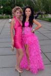 Ищю мастера по коже, который бы мне пошил точно такое же выпускное платье розового цвета с хвостом сзади. Спереди коротко, сзади длинное.