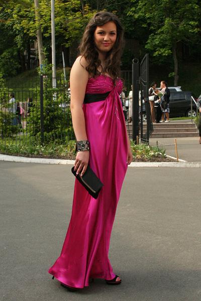 Выпускной платье 2010