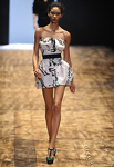 Платье-корсет с объемным низом/ юбкой бочонок