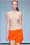 Платье. юбка на запах с драпировками