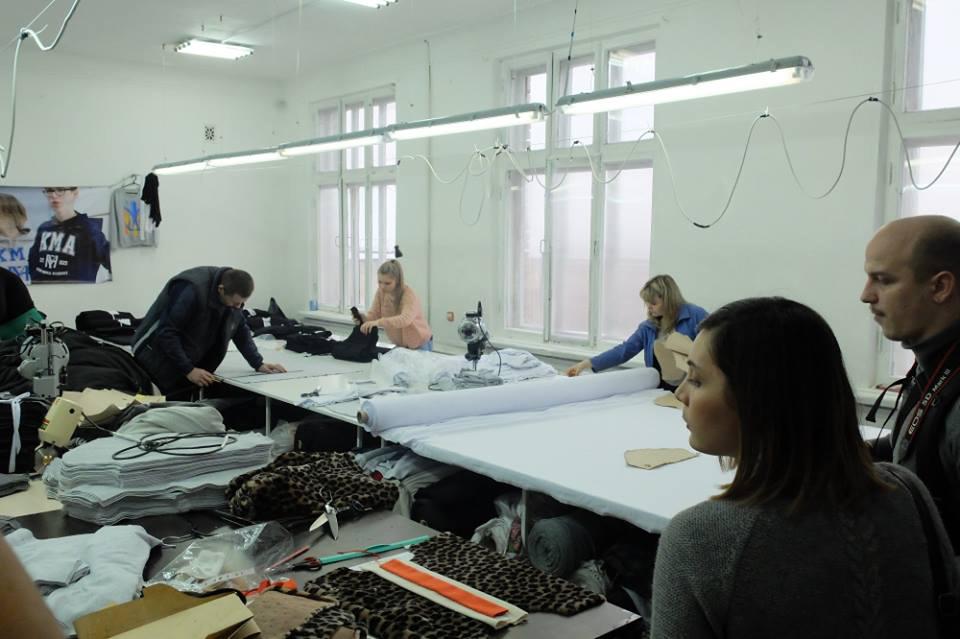 086ca607dc2a Презентация швейного производства Kyivmade. Kyivmade – швейное ...