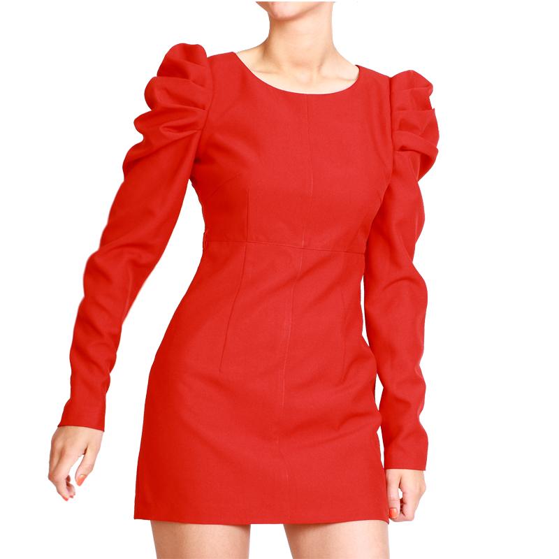 Купить модное и стильное красное мини