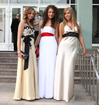 Выпускное леопардовое платье. Выпускное платье - 2009